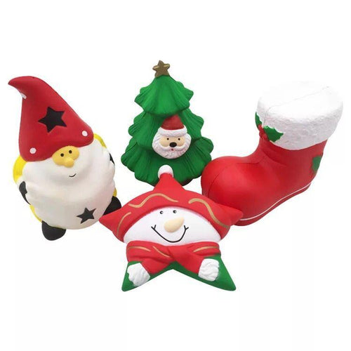 Wholesale Christmas Stress Reliever, Kingfansion Scented Squishy  - 10 Pack