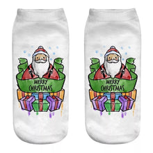 Load image into Gallery viewer, Wholesale Christmas Unisex 3D Printed Socks 6 Pack - Mix Styles