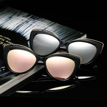 Load image into Gallery viewer, Cat Eye Oceanic Color Lens Wholesale Bulk Sunglasses - Mix Colors