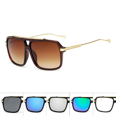 New Squared Aviators Wholesale Bulk Sunglasses - Mix Colors