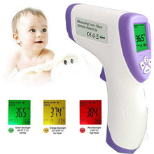 Load image into Gallery viewer, Digital Thermometer Infrared Forehead Non Touch Temperature Gun For Baby Adult