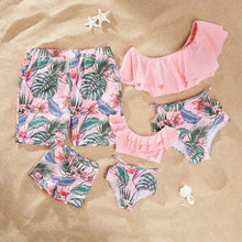 Load image into Gallery viewer, Summer Floral Breeze Family Matching Swimsuit