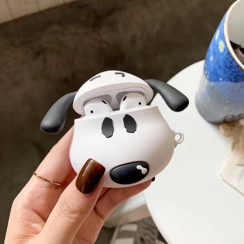 Wholesale Airpod Protective Covers Snoopy Dog Shape