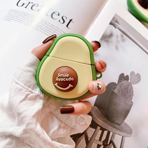 Wholesale Airpod Cover Avocado Smile Shape Case