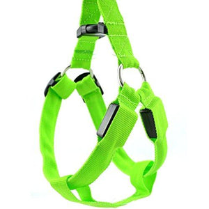 Wholesale Dog Harness LED Light-up Flashing Harness for Small Dog Cats safety Harness - All Color