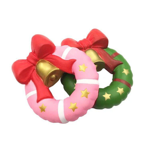 Wholesale Christmas Donuts Stress Reliever, Slow Rise Christmas Donuts Squishy
