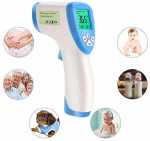 Digital Thermometer Infrared Forehead Non Touch Temperature Gun For Baby Adult