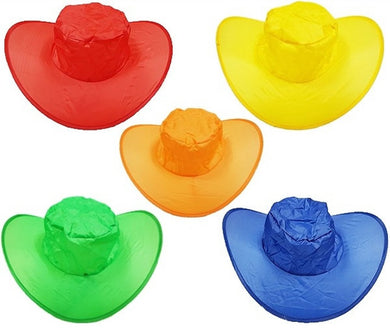 Light Twist and Fold Colorful Sun Hats for Sunny, Rainy and Fun Days