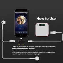 Load image into Gallery viewer, Bestseller Splitter Mini Earphone Connector Convertor 2 in 1 Accessories Cables Call Charge Music Wire Control