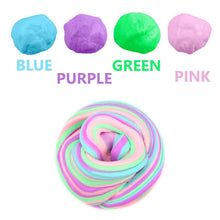 Load image into Gallery viewer, Wholesale Jumbo Soft Floam Slime Putty Stress Relief Toy Scented Sludge 4 Colors