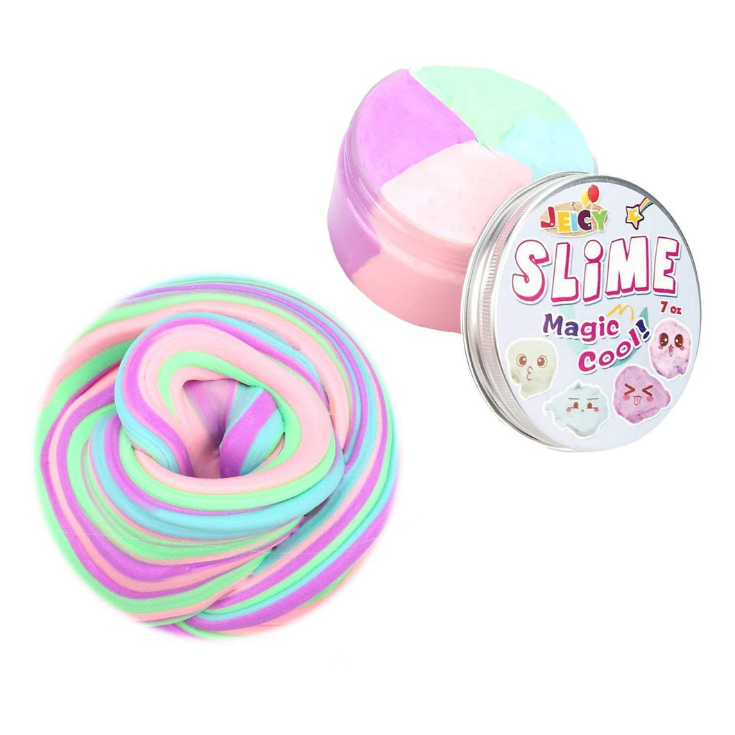 Wholesale Jumbo Soft Floam Slime Putty Stress Relief Toy Scented Sludge 4 Colors