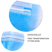 Load image into Gallery viewer, Wholesale Disposable Mouth Masks 3 Layers, Earloop Disposable Face Masks, Surgical Masks