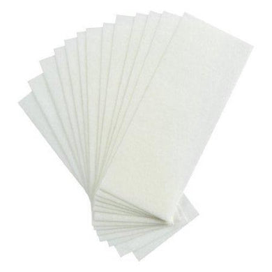 100 Pcs Professional Facial & Body Hair Removal Wax Strips Paper Depilatory Nonwoven Epilator