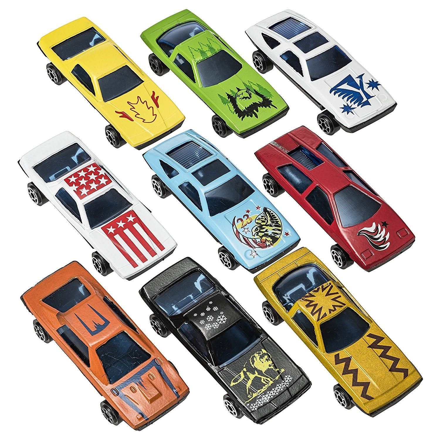 Wholesale 50 Pc Die Cast Toy Cars Party Favors Easter Eggs Filler or Cake  Toppers Stocking Stuffers Cars Toys For Kids