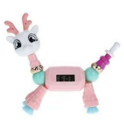 Deer Watch Twisty Petz Bracelet for Kids Magical Bracelet Beads