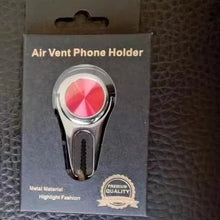 Load image into Gallery viewer, New Phone Ring Stand and Car Vent Holder 3 in 1 Bestseller Phone Grips