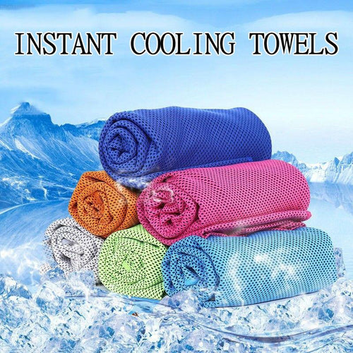 Cooling Towel for Sports, Workout, Fitness, Gym, Yoga, Pilates, Travel, Camping - Bestseller