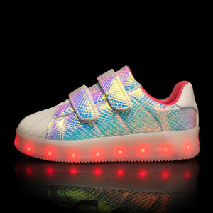 New Arrival Kids Light Up Led Shoes - Light Colorful