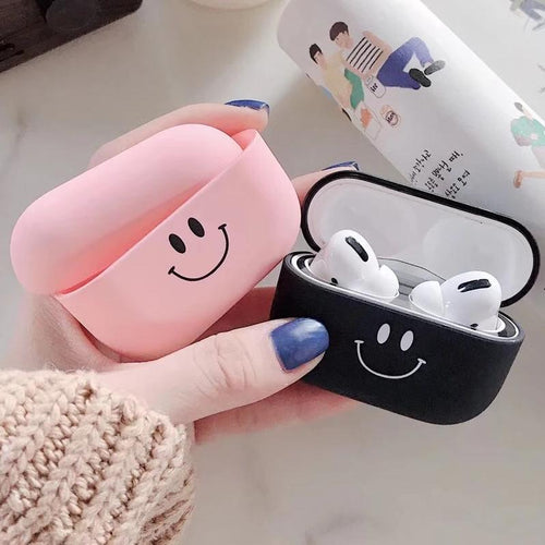 Airpod Pro & Airpod 1/2 Case Cover For His And Hers Smile Face