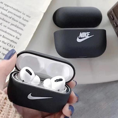 Airpod Pro & Airpod 1/2 Case Cover With Nike Logo Black