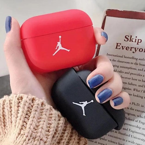 Airpod Pro & Airpod 1/2 Case Cover With Jordan Red and Black