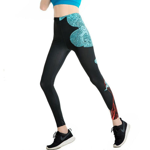 Blue And Black Stylish Leggings
