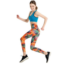 Load image into Gallery viewer, Fish Stylish Leggings - Orange