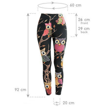 Load image into Gallery viewer, Colorful Owl Stylish Leggings