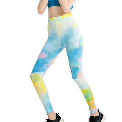 Green Sky Stylish Leggings