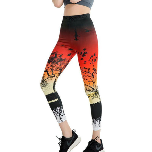Tree And Birds Stylish Leggings