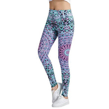 Load image into Gallery viewer, Multi-Color Fashion Leggings - Blue