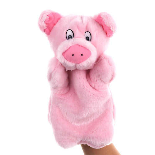 Pig Hand Stage Puppet Playing, Teaching Plush Toys