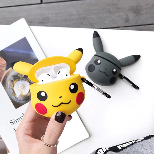 Wholesale Airpod Cover Pokemon Shape Case