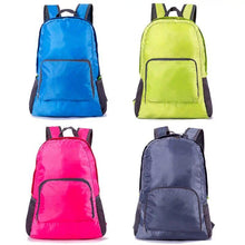 Load image into Gallery viewer, Promotional Custom Logo Folding Backpacks Custom Outdoor Backpacks