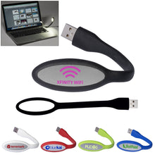 Load image into Gallery viewer, Custom Logo Promotional Flexi USB LED Lights
