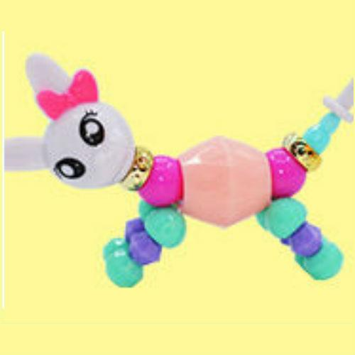 Rabbit Twisty Petz Bracelet for Kids Magical Bracelet Beads