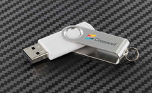 Load image into Gallery viewer, Custom Logo Quality High Storage 4GB or Up Swivel USB Drives