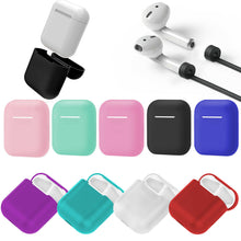 Load image into Gallery viewer, AirPods Silicone Case Cover Protective for Apple Airpod Charging Case