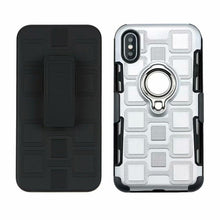 Load image into Gallery viewer, Wholesale Stylish 3 in 1 Protective Shockproof IPhone Case With Smart Ring Holder