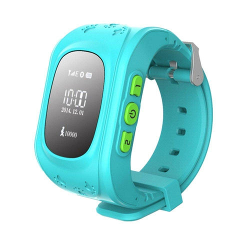 Children Kids Smart Watch with Anti lost GPS Tracker SOS Call Location Finder Remote Monitor Pedometer Functions