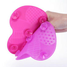 Load image into Gallery viewer, Silicone Makeup Brush Cleaner Pad Washing Scrubber Board Cleaning Mat