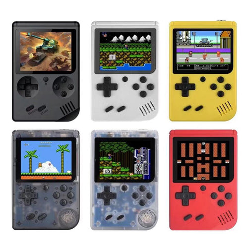 Bestseller RETRO FC Wholesale Pocket Handheld Video Game Consoles Built In Up to 600 Games