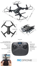 Load image into Gallery viewer, Wholesale 8807W Foldable 0.3MP Camera Wifi FPV Drone