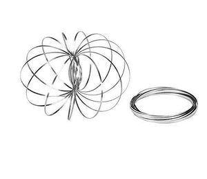 Popular Flow Ring for wholesale, Kinetic Spring Toy 3D Sculpture Ring