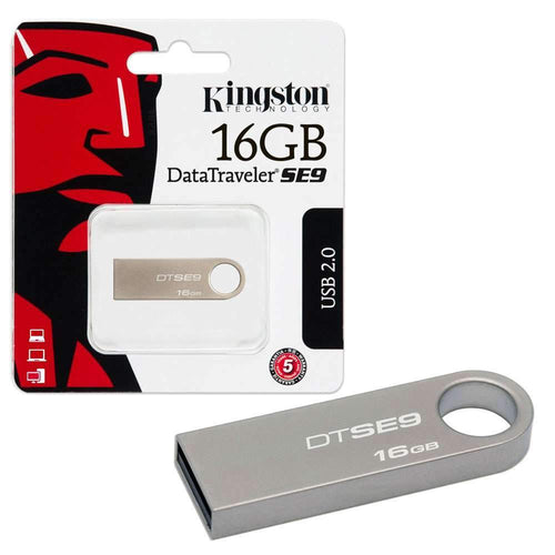 Kingston Digital DataTraveler SE9 Metal USB Flash Drive - All Sizes