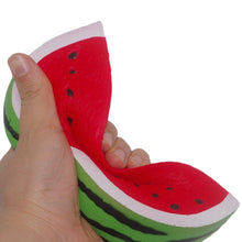 Load image into Gallery viewer, Wholesale Jumbo Watermelon Fruit Scented Bread Squishy - 15cm