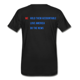 Men's Daily Caller Premium T-Shirt - black