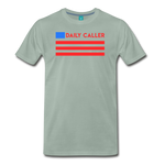 Men's Daily Caller Premium T-Shirt - steel green