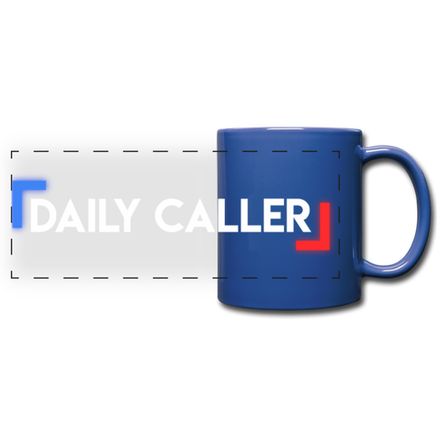 Daily Caller Panoramic Mug - royal blue