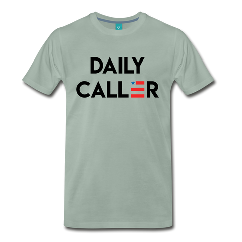 Daily Caller Men's Grey - steel green